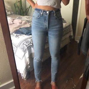 We the Free skinny high rise jeans